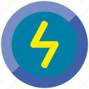 charge, electric, energy, flash, power, thunder