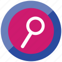 search, file, seraching, microscop, find, loop icon