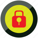 code, danger, lock, log, security, warning icon