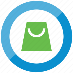 blue, buy, goody bag, sell, shop, store, trade icon