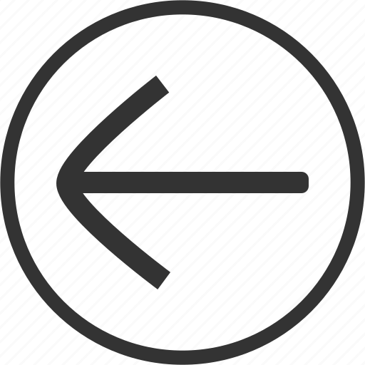 Arrow, left, direction, circle icon - Download on Iconfinder