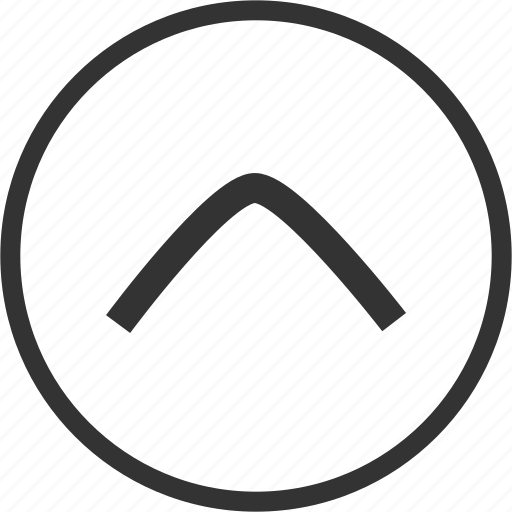 Arrow, up, direction, circle icon - Download on Iconfinder