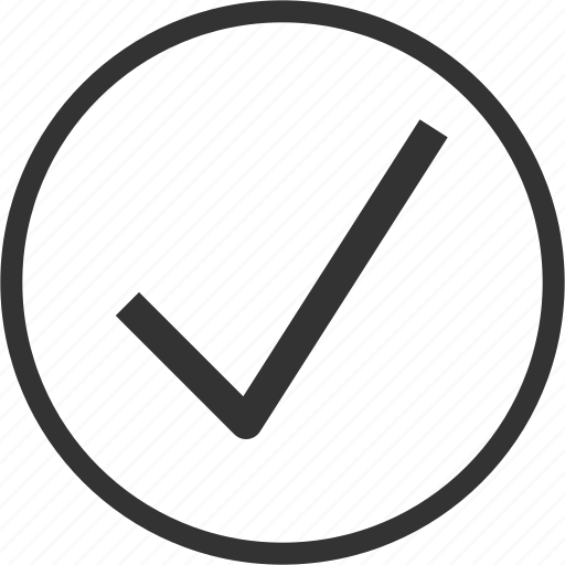 Checkmark, ok, success, circle icon - Download on Iconfinder