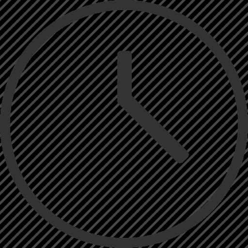circle, clock, time icon