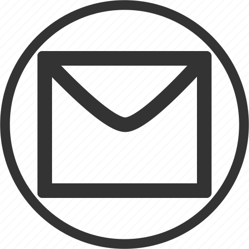 Circle  Email  Letter  Mail  Message Icon