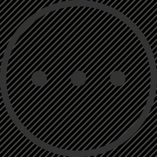 Menu, more, add, circle icon - Download on Iconfinder