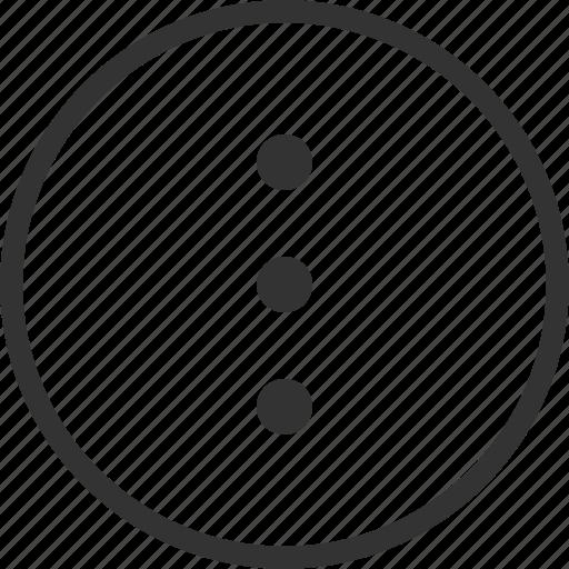 add, circle, create, menu, more, new icon