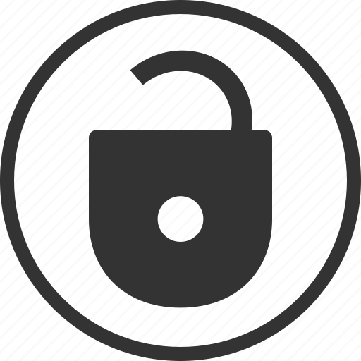 open, protection, safe, secure, unlock icon