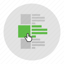 article, hover, item, mouse icon