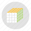 application, cube, menu icon