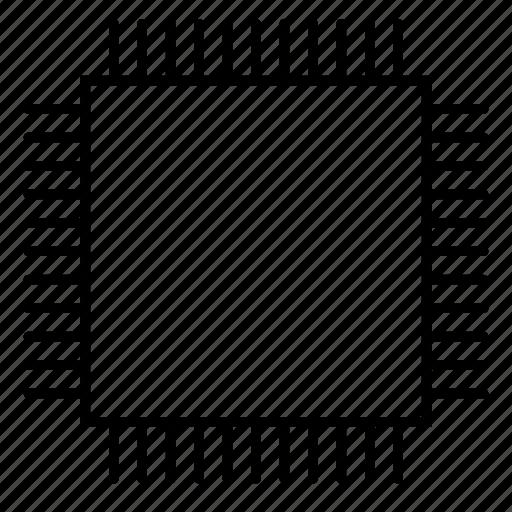 alu, central processing unit, circuitdiagram, core, cpu, i/o, microprocessor icon