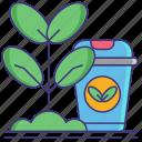 based, bio, materials, nature, plant icon