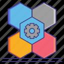 creative, design, economy, modular icon