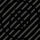 circular triangle, circular triangles, double triangle, double triangles, media, triangle, triangles icon