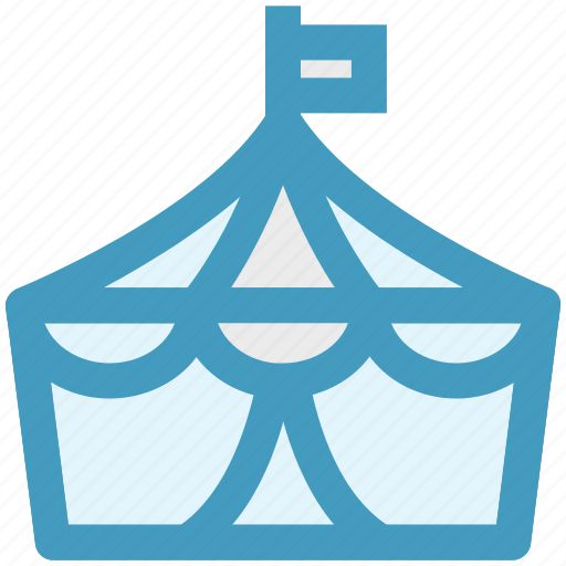 carnival, circus, entertainment, guest tent, marquee, shows, tent icon