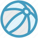 ball, beach ball, circus ball, juggling ball, play icon