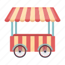 shop, shopping, food, dessert, circus, sweets, mobile