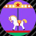 circus, toys, horse, toy