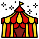 circus, carnival, festival, tent, cabaret, show