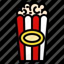 popcorn, corn, party, circus, festival, cinema