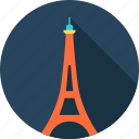 architecture, city, eiffel tower, europe, france, paris, romantic icon