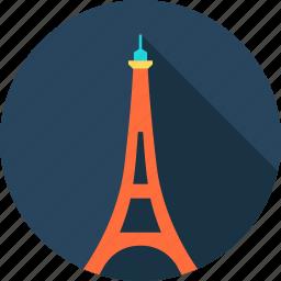 architecture, city, eiffel tower, europe, france, paris, romantic icon