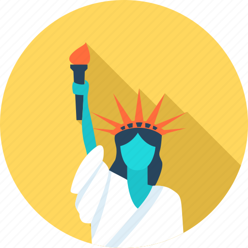 City, americas, liberties, new york, travel, u.s icon - Download on Iconfinder
