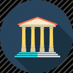 ancient roman, architecture, athens, city, italia, parthenon, travel icon