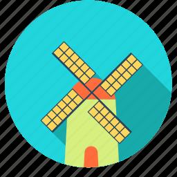 amsterdam, city, europe, netherlands, tulip, windmill icon