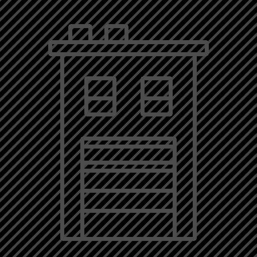 apartement, building, garage, home, house, werehouse icon