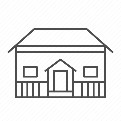 architecture, building, home, house, school icon