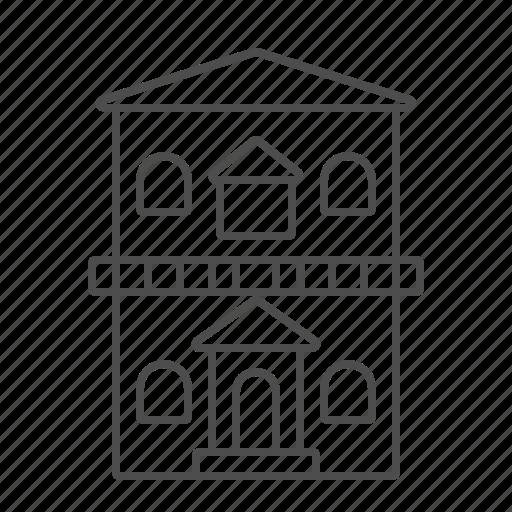 apartement, architecture, building, city, home, house icon
