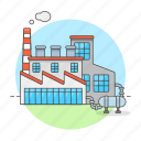 building, city, factory, industry, machinery, manufacturing, plant, production, various