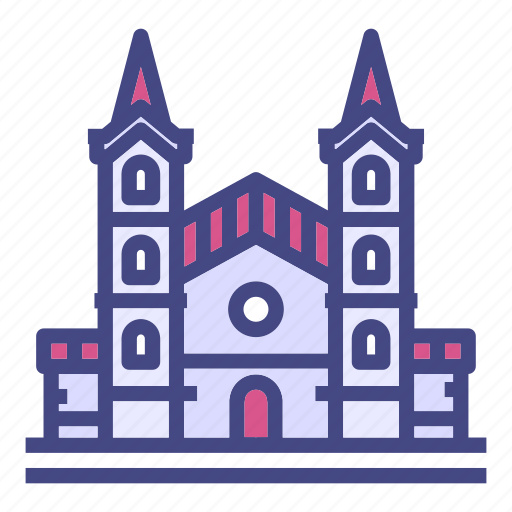 architecture, building, cathedral, city, city hall, historical, house icon