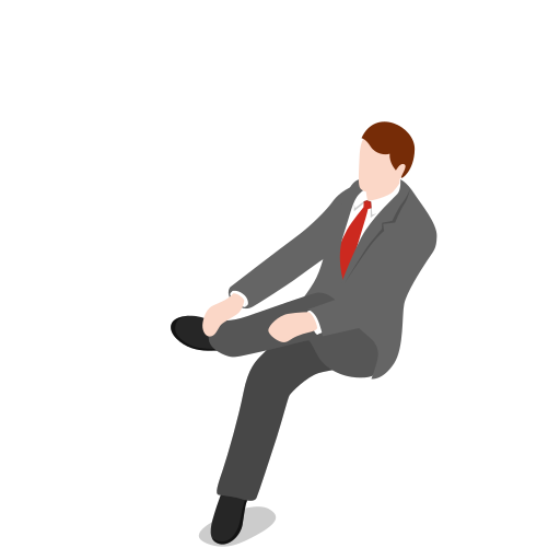 avatar, businessman, clothing, fashion, male, man, people, person, sitting, user icon
