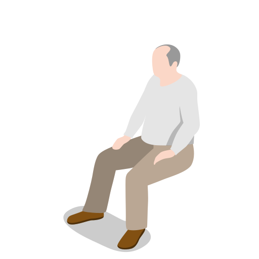 human, male, man, oldman, people, person, sitting, user icon