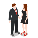 business, female, girl, group, human, man, office, pair, people, person, team, user, users, woman icon