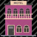 commercial building, hostel, hotel, inn, motel, residential building