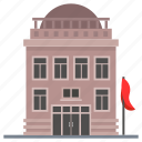 commercial building, consulate, embassy, government building, ministry icon