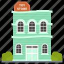 outlet, storehouse, toys market, toys shop, toys store