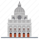 city hall, government building, guildhall, municipal building, town hall icon