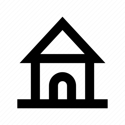 bungalow, cabin, cottage, dwelling, house, villa icon