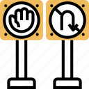 direction, sign, regulation, road, traffic