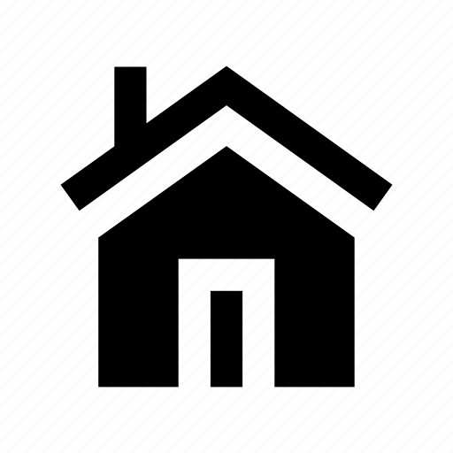 building, house, hut, shack, villa icon