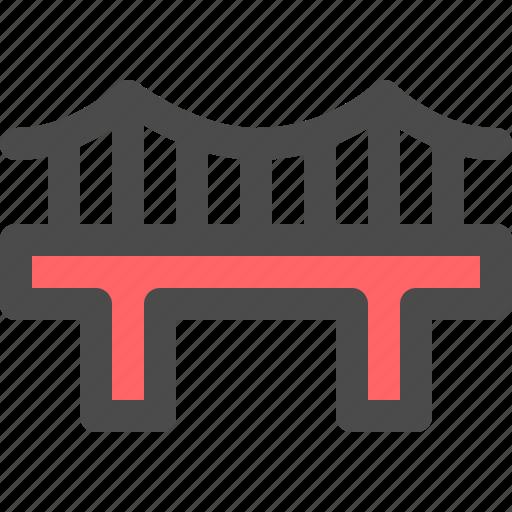 architecture, bridge, city, landmark, travel icon