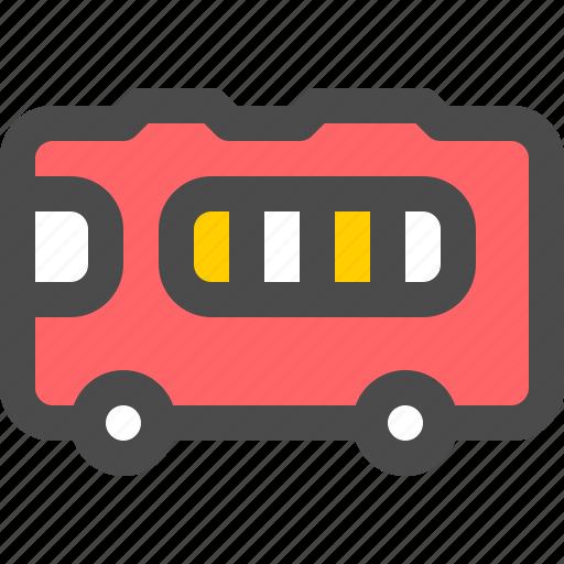 bus, business, car, transportation, travel icon