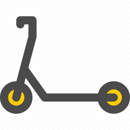 electric, scooter, travel, urban, vehicle icon