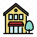 building, business, city, home, house, shop, store icon