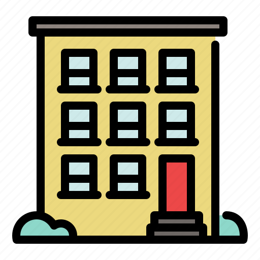 apartment, building, city, home, house, tower icon