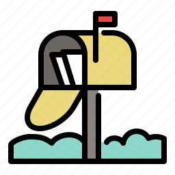 address, city, email, inbox, letter, mail, mailbox icon